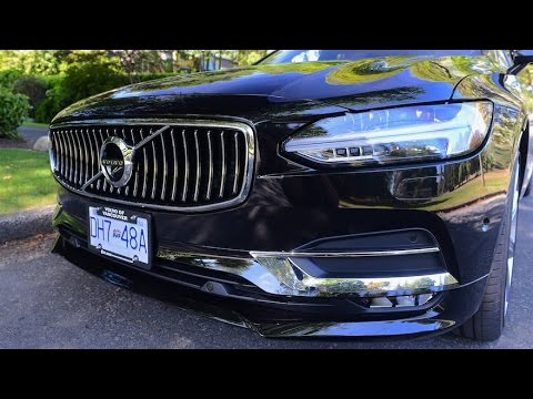 2017 Volvo S90 Review--VOLVO CONTINUES TO IMPRESS