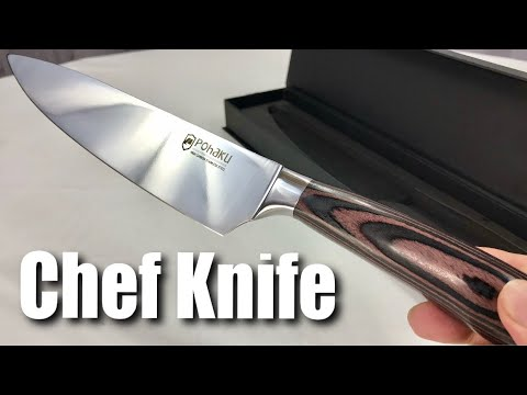 Pohaku 8 inch Professional Multipurpose Chef Kitchen Knife Review