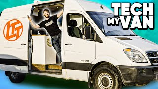 HUGE PC upgrade... in a Van!