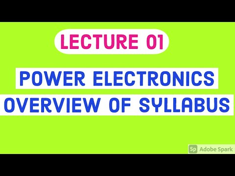 #Power#Electronics#Syllabus#Overview#Discussion#on#Power ...