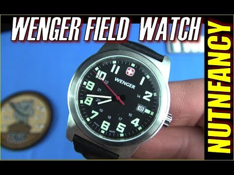 Wenger Classic Field Watch- Swiss Quality Affordable