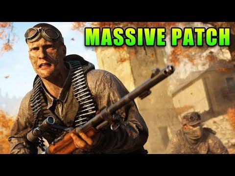 Battlefield V Massive Patch - Good & Bad
