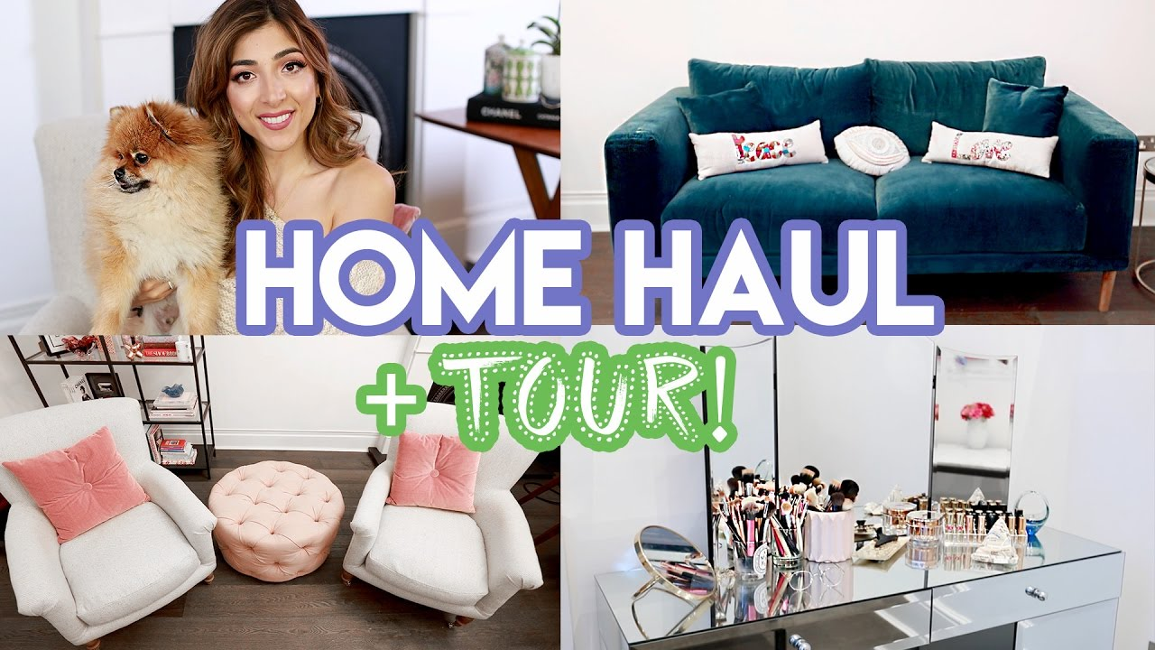 HOME HAUL + Mini Tour! | Amelia Liana