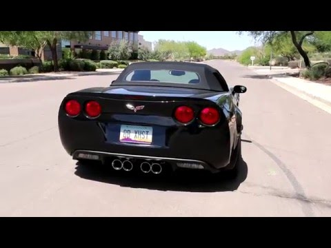 Chevy C6 Corvette with Fusion Exhaust Drive Off – Billy Boat Exhaust