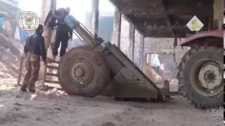 Firing Hell Cannon