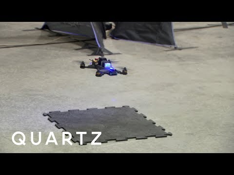 Can a Human Beat a Computer Flying a Drone?