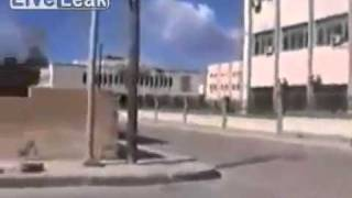 Raw Footage Of More Fighting In The Streets Of Misurata,Libya...2 10 2011