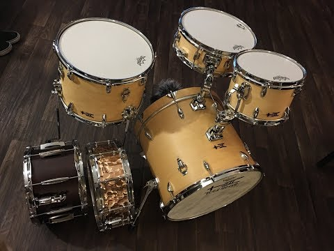 Treehouse Custom Drums – Compact Nesting Kit – Featured Product