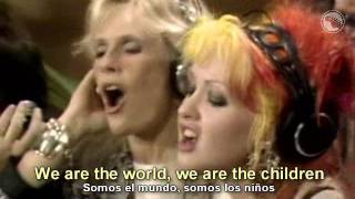 USA For Africa - We Are The World - Subtitulado Español & Inglés