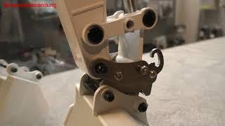 Der Schnellwechsler mit Magnethalterung für Huina und Amewi Bagger