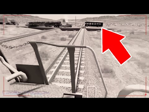 BeamNG Drive - TRAIN ACCIDENTS #4 (LIVE On-Board camera View Edition)