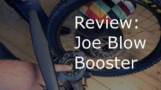 Topeak Joe Blow Booster | Test | Review | Die Mutter aller Pumpen |