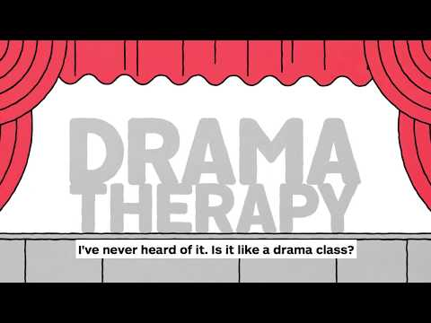 Dramatherapy at Dundee Rep<br />What is Dramatherapy? Jonathan Tighe