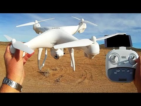 SJRC S70W GPS Follow Me Camera Drone Flight Test Review