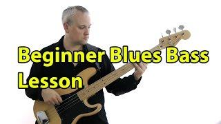 Beginner Blues Bass Lesson