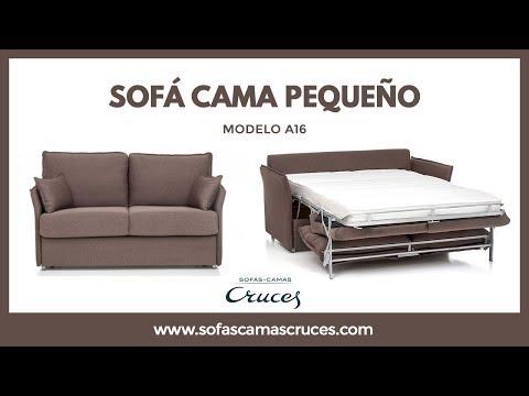 Sofá cama con poco fondo perfecto para espacios pequeños