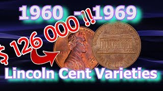 Top 10 1960's Lincoln Penny Varieties Worth Money