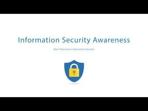 Information Security Awareness - Basic Training - YouTube