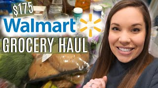 Walmart Weekly Grocery Haul!! | Grocery Pick-up and Delivery