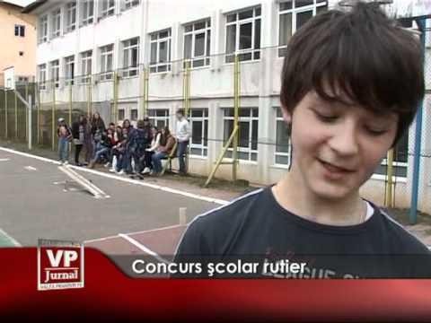 Concurs şcolar rutier