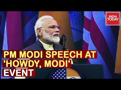 PM Narendra Modi Full Speech At 'Howdy, Modi' Event In Houston