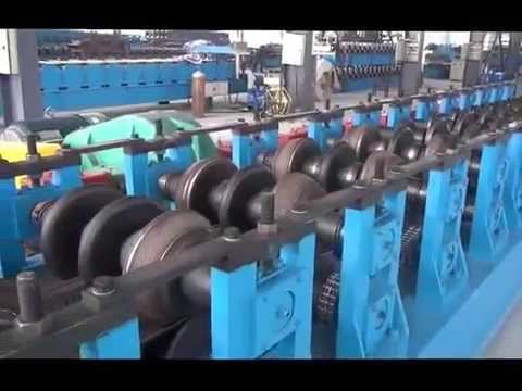 Automatic Highway Guardrail Machine
