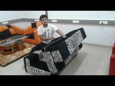 Foldable And Washable Sofa Cum Bed Only For 9999/-