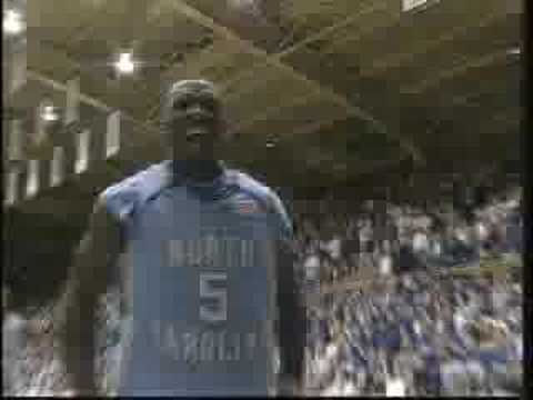 Video: 2006-07 UNC Basketball Highlights