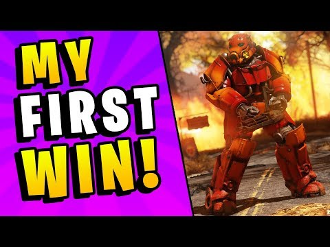Fallout 76 Battle Royale - My First Victory! Actually Very Fun (Nuclear Winter DLC Update Beta)