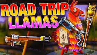 NEW ROAD TRIP Llama Opening! | Flintlock Weapons! | Fortnite Save the World
