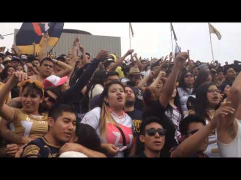 """""""PUMAS VS TOLUCA pebetero 2015"""" Barra: La Rebel • Club: Pumas"""