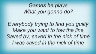 Ac Dc - Nick Of Time Lyrics