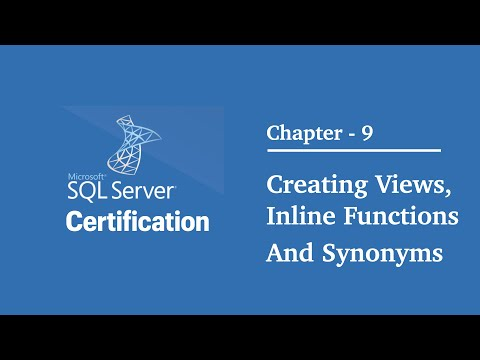 SQL Tutorials : 70-461   Chapter - 9   Designing and ... - YouTube