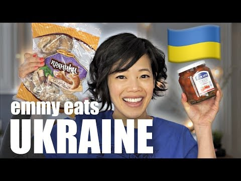 🇺🇦Emmy Eats the UKRAINE - an American's first taste of Ukrainian treats