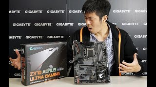 Z370 AORUS ULTRA GAMING Unboxing & Overview