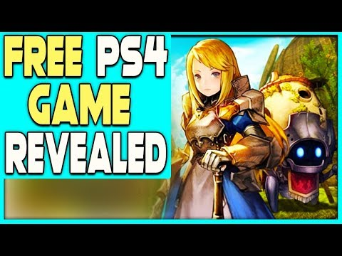 FREE PS4 GAME REVEALED - NEW JAPANESE MMORPG!