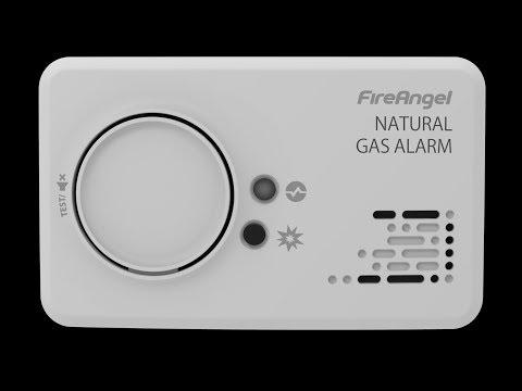 FireAngel Gasmelder NG-9 B für Stadt- und Erdgas