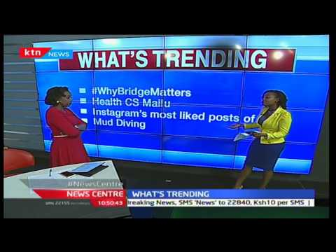 News Centre - 5th December 2016 - What's Trending with Julian Kamau