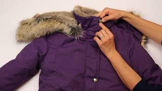 Куртка зимняя kerry maya темно-фиолетовый