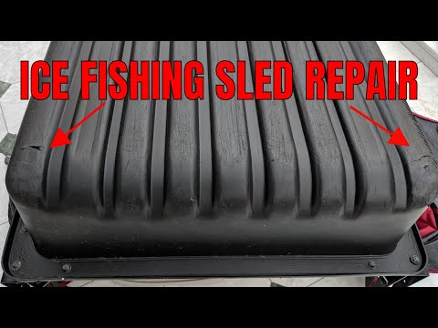 Ice Fishing Sled Repair-How to Patch Holes