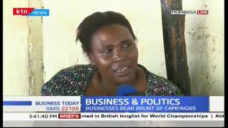 Business workers comment on their performance during electioneering period