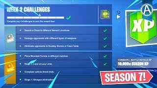 Fortnite WEEK 2 CHALLENGES GUIDE! // Pro Console Player // 1500+ Wins (Fortnite Battle Royale LIVE)