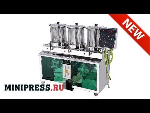 🔥Máquina para llenar líquidos en envases de plástico BB-153 extra video Minipress.ru