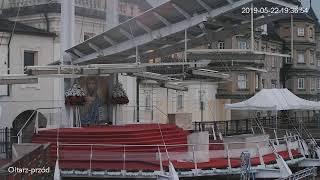 Szczyt jasnogórski - widok na ołtarz