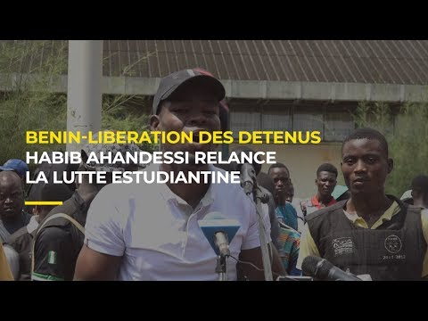 Bénin : Habib Ahandessi relance la lutte estudiantine