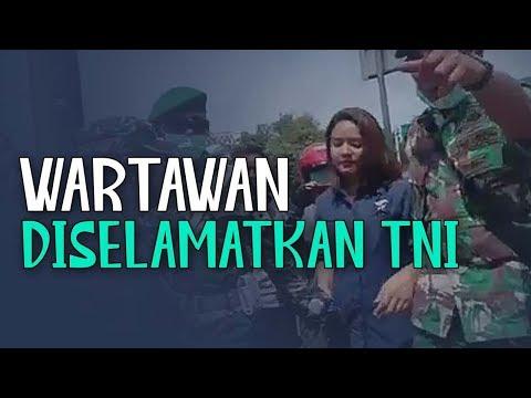 Wartawan Diselamatkan TNI