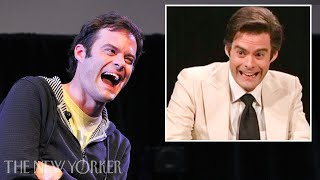 "Bill Hader on Creating Vinny Vedecci for His ""S.N.L."" Audition – The New Yorker Festival"