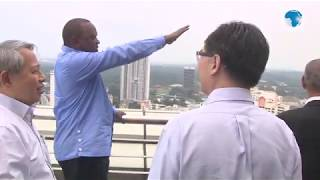 Uhuru tours Singapore for the Singapore Summit 2019
