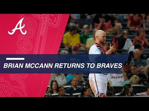 Veteran catcher Brian McCann signs 1-year deal with Braves