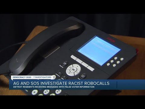 Michigan SOS warns of 'racially-charged' robocall w/ false info on mail-in voting